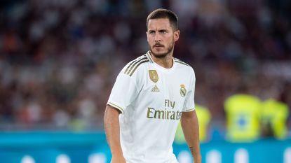 Hazard nog steeds niet op groepstraining van Real Madrid