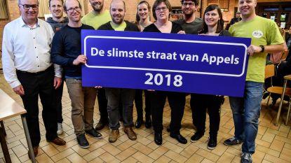 Heirstraat is Slimste straat van Appels