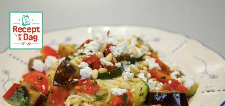 Recept van de dag: Spaghetti met geitenkaas en groene kruiden