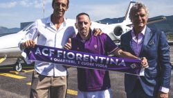 Transfer Talk. Ribéry naar Fiorentina - Genk dicht bij goalgetter van twee meter - De Bock op weg naar Griekenland