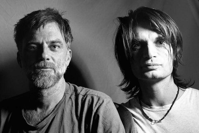 Jonny Greenwood (rechts) en Paul Thomas Anderson. Beeld Shin Katan