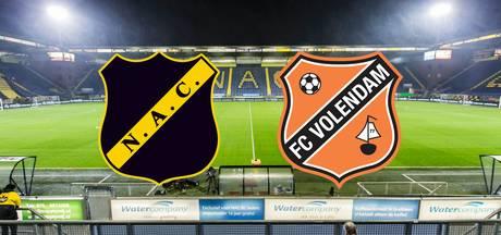 Live NAC-Volendam (15'): El Allouchi opent het bal met vroege treffer: 1-0