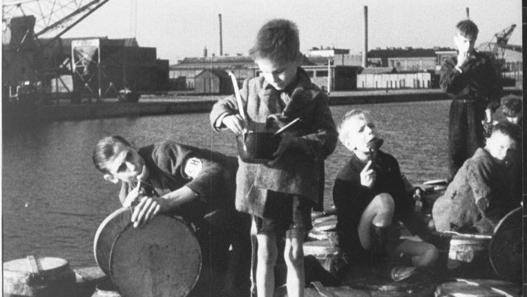 Beeld uit de documentaire Honger van Rudi Hornecker over de oorlogswinter 1944-45. Beeld Beeldbank WO2