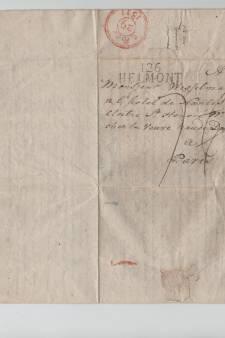 Schenking historische brief aan Kasteel Helmond