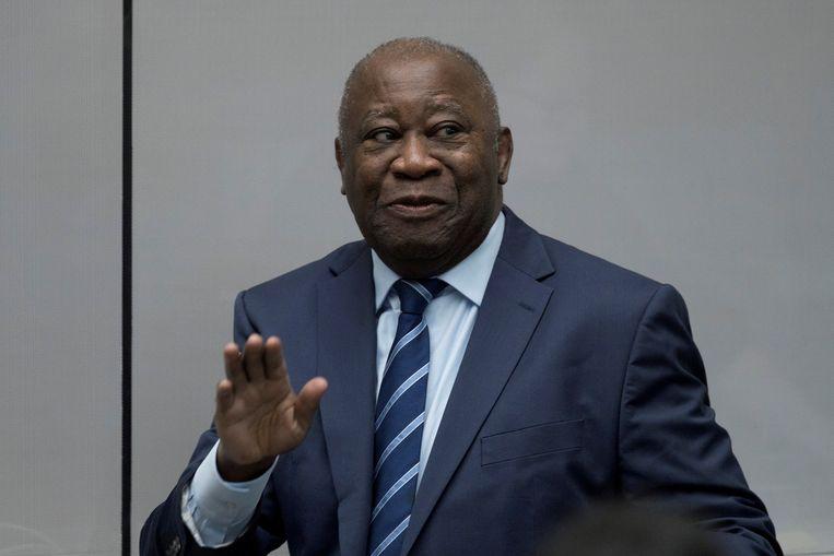 Laurent Gbagbo, voormalig president van Ivoorkust.