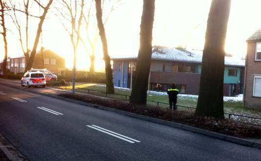 Archieffoto: Politie-inzet bij een pand van Pluryn aan de Cranenburgsestraat in Groesbeek.