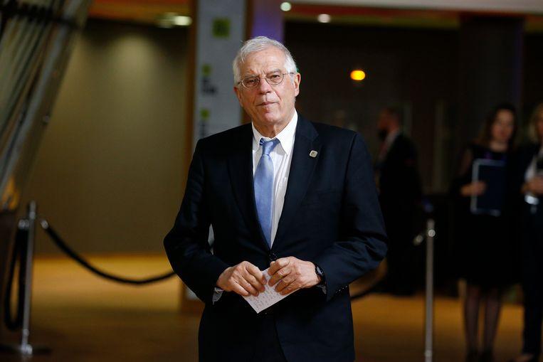 EU-buitenlandcoördinator Josep Borrell. Beeld EPA