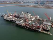's Werelds grootste werkschip maandag verwacht in Vlissingen