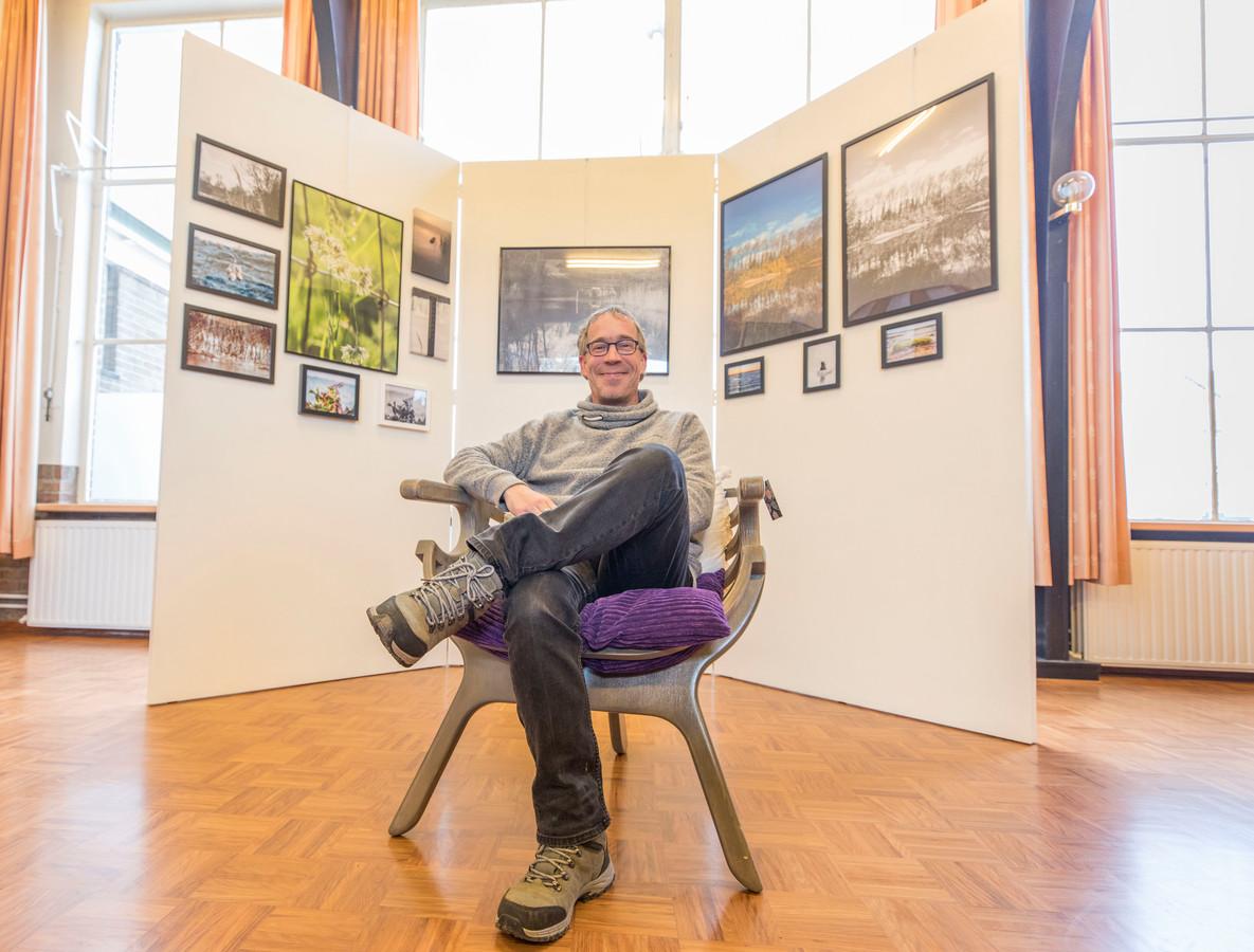 Roland van Tilborg stelt deze en volgende maand zijn foto's tentoon in de Kunstkamer in Scherpenisse.