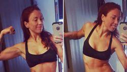 Straf: Natalia toont strakke buikspieren op Instagram
