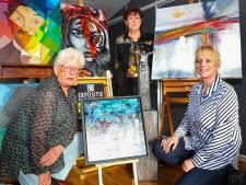 Expositie Kunstuitleen in Veldhoven om kunst aan de man te brengen