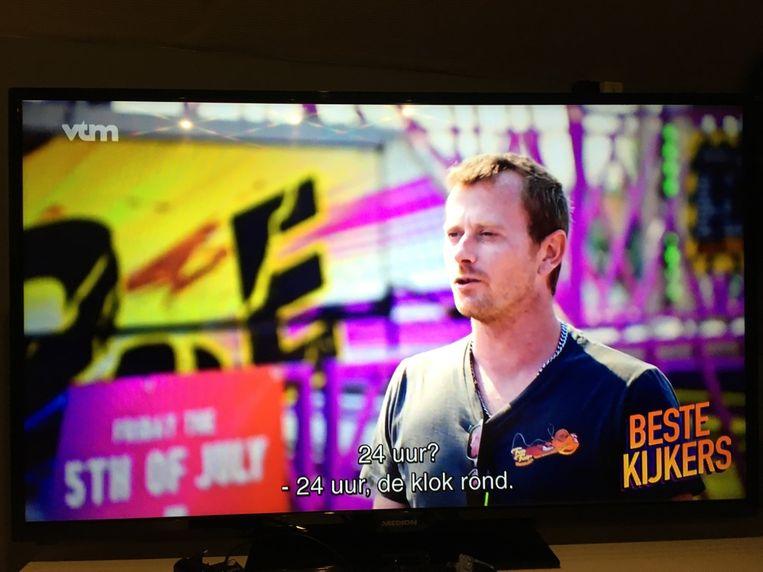 De stunt van Robin in Belgium's got Talent kwam ook in Beste Kijkers.