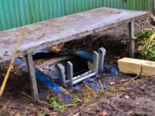 Voormalige hennepkwekerij ontdekt in ondergrondse zeecontainer in Aarle-Rixtel