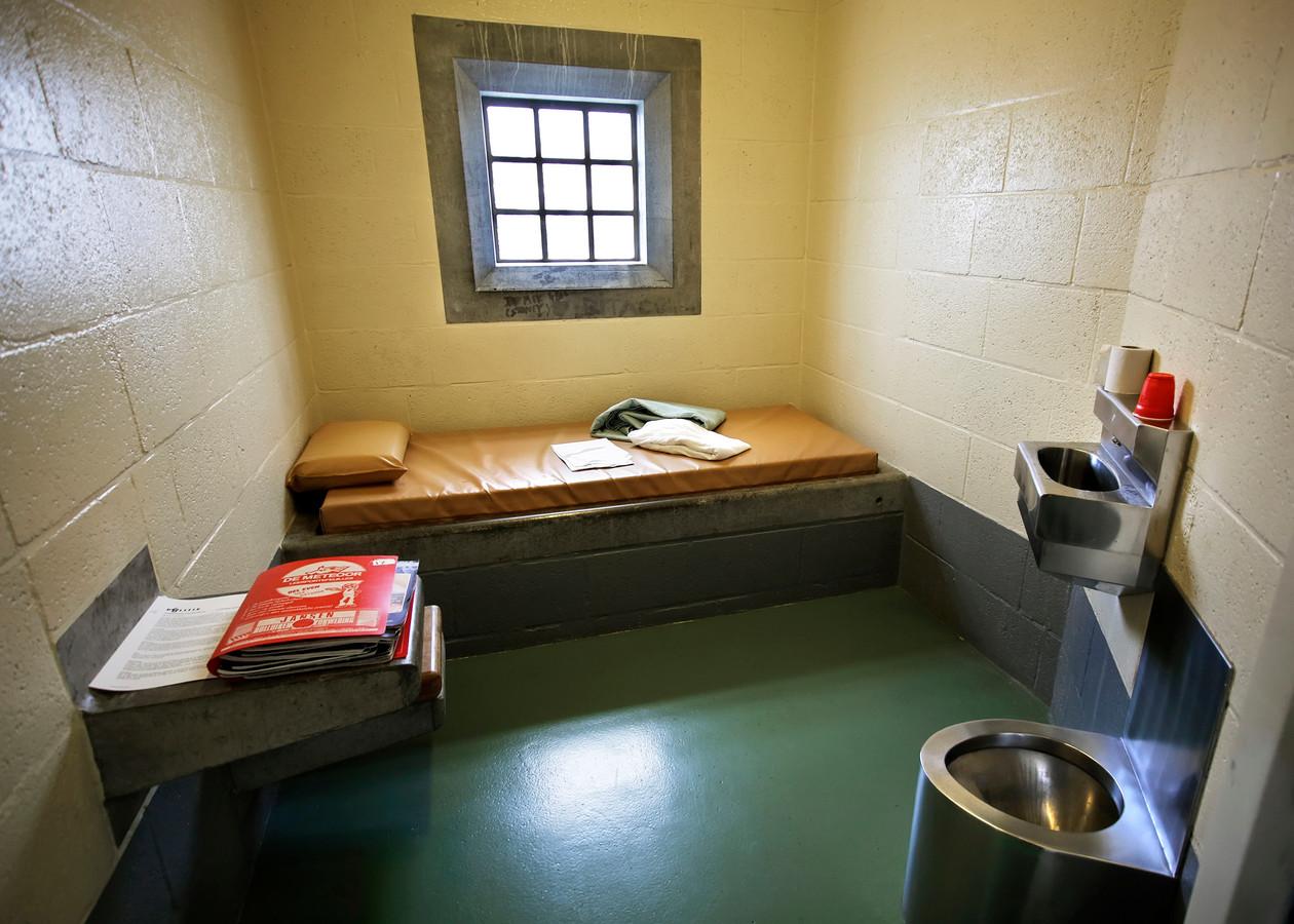 Een politiecel. Foto ter illustratie.