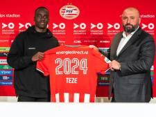 Trotse Teze is blij om langer voor PSV te spelen: 'Ondanks bizarre maanden is het voor mij een mooi jaar'