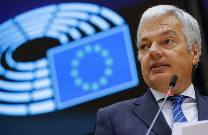 Didier Reynders, ancien président du MR et actuel commissaire européen.