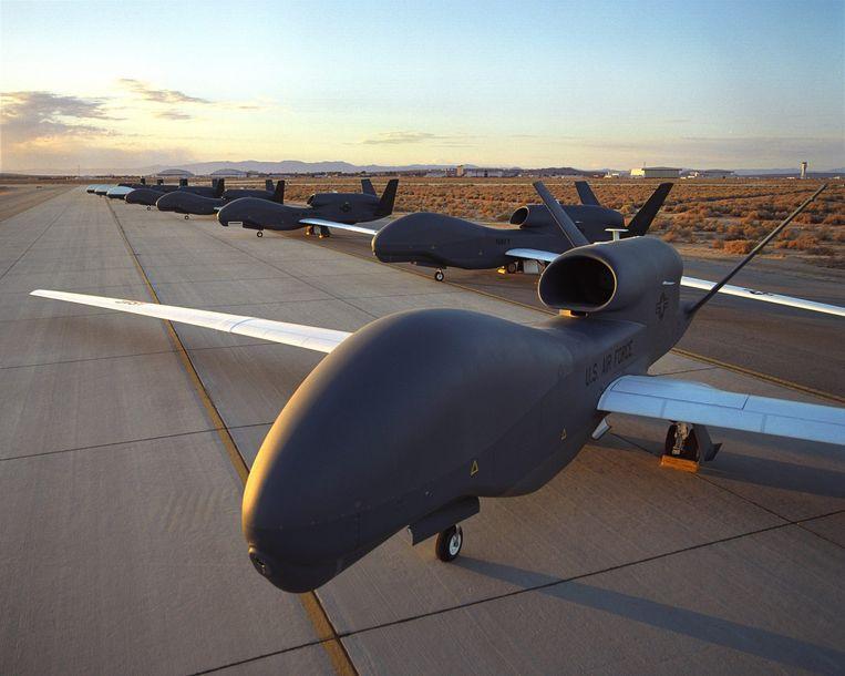 Een Global Hawk Drone. Beeld epa
