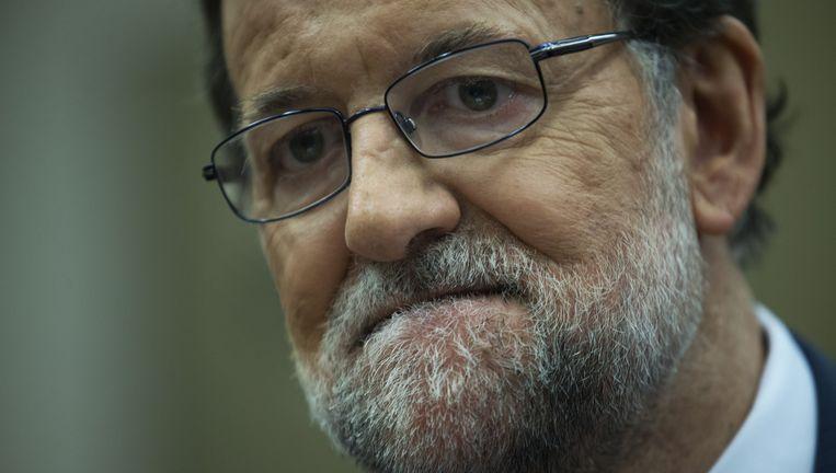 Demissionair premier van Spanje Mariano Rajoy Beeld ap
