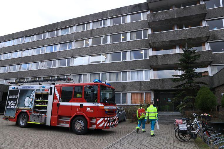 De hulpdiensten rukten zaterdag uit naar de oude gebouwen van De Notelaar voor een brandalarm.