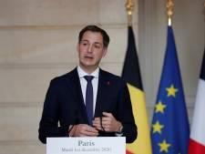 Alexander De Croo annonce des contrôles aux frontières pendant les vacances de fin d'année