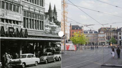 Vroeger en Nu: De Korenmarkt in de jaren 60