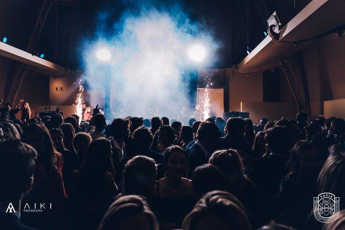 Studentenvereniging Sofia maakte het vorig jaar tijdens het galabal te bont en werd geschorst