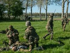 Geweervuur militaire oefening haalt bewoners Rijen in alle vroegte uit slaap