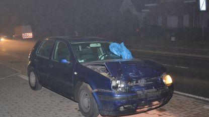 Wagens botsen op Buke: enkel materiële schade