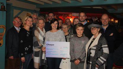 N-VA Maarkedal schenkt 1.133 euro aan Kinderkankerfonds