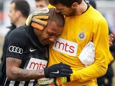 Partizan-speler in tranen van het veld na racistische spreekkoren