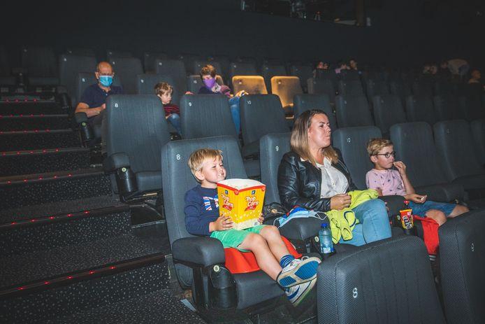 Snacks zijn vanaf vandaag verboden in de bioscoopzalen.