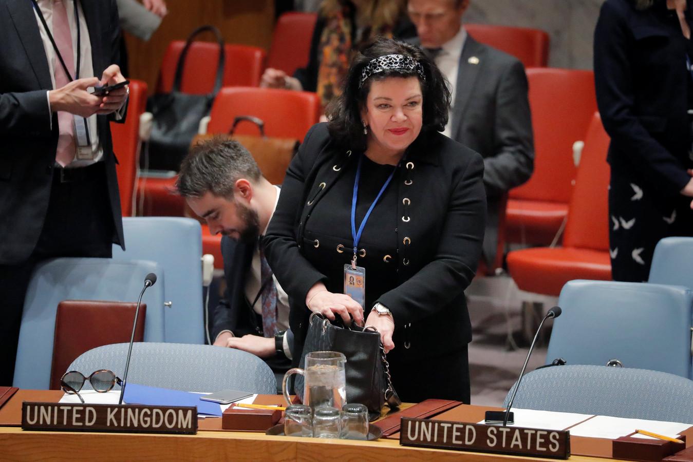 Karen Pierce, de Britse VN-ambassadeur.
