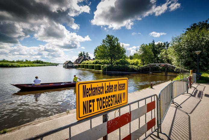 DS-2020-3796 Giethoorn Loswal weer op slot©Wilbert Bijzitter