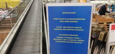 Bovenverdieping Makro Duiven weer open maar aanbod blijft beperkt tot voeding en essentiële producten