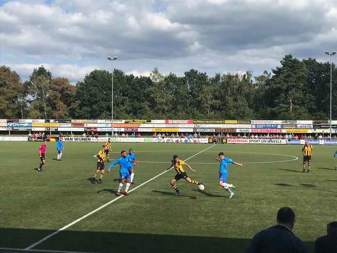 Maurice de Ruiter was man of the match met vier doelpunten.