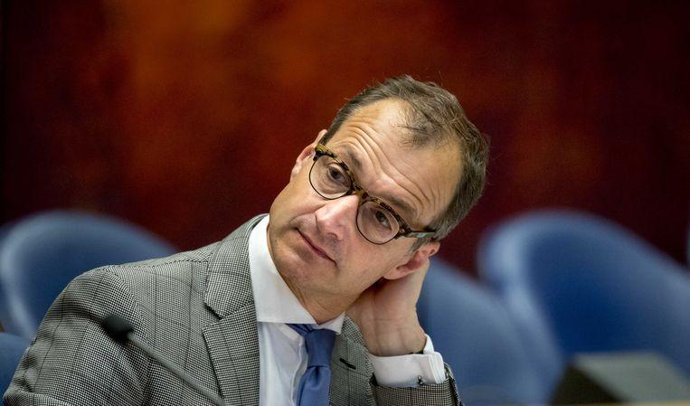 Voormalig staatssecretaris van financiën Eric Wiebes (VVD), werd afgelopen najaar minister van economische zaken en klimaat. Beeld ANP