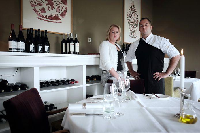 Berry en Wendy van de Ven van restaurant Mezzo.