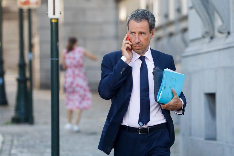 Minister van Buitenlandse Zaken Philippe Goffin.