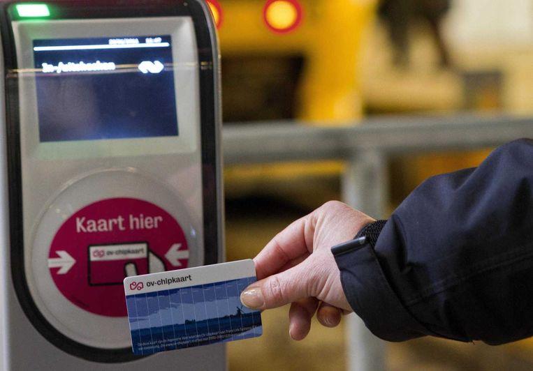 De invoer van de omstreden ov-chipkaart is één van de voorbeelden van falend ICT-beleid die door de commissie werd onderzocht. Beeld anp