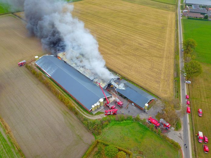 Dronefoto stalbrand Heusden