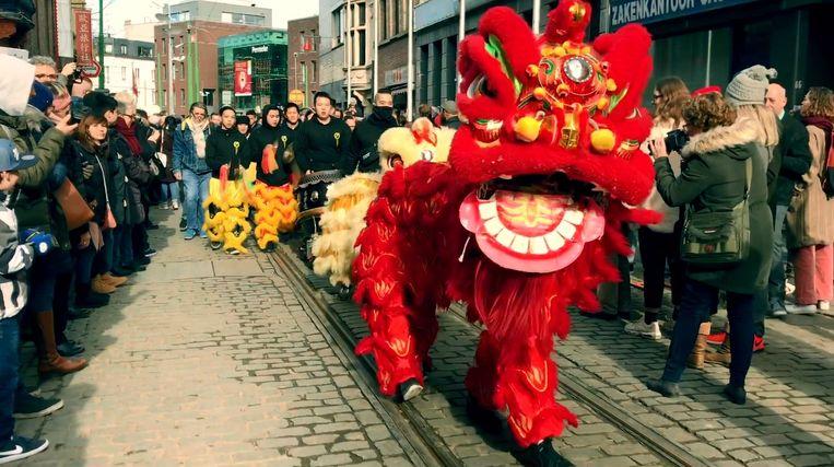 Chinees Nieuwjaar in Antwerpen.