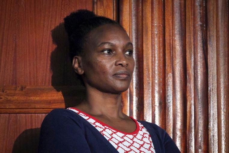 Sarah Wairimu Kamotho, de weduwe van Tob Cohen. Beeld null