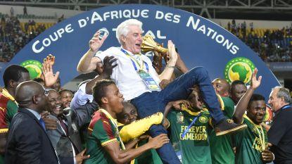 Broos eerste Belg die Africa Cup wint nadat invaller Aboubakar Kameroen in extremis naar delirium schiet