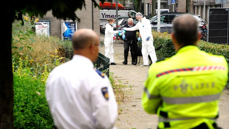 Eggermont werd in 2014 doodgeschoten in zijn auto in de Conradstraat. Beeld anp