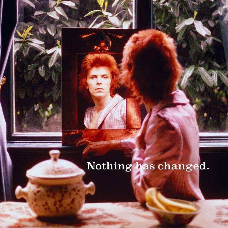 Deze drie foto's verschenen op de website van David Bowie na de aankondiging van zijn verzamelalbum. 3/3 Beeld