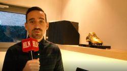 """Op bezoek bij de Gouden Schoen van... Sven Kums: """"Was heel nerveus toen ik hem kreeg"""""""