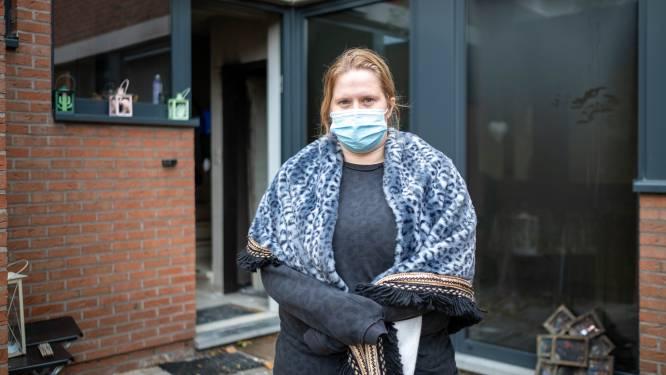"""Moeder van drie op straat na brand: """"Kinderen vragen waar we nu gaan wonen"""""""