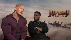 Dwayne 'The Rock' Johnson is heel blij met deze vraag van VTM-reporter