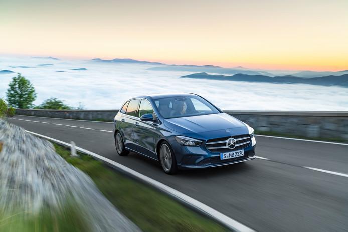 Nieuwe Mercedes B Klasse De Mpv Vervolmaakt Auto Ad Nl