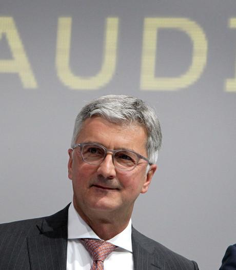 Dieselschandaal: Audi-topman  blijft langer vastzitten